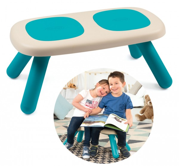 Kinder-Sitzbank Kid für Drinnen und Draußen (Türkis)