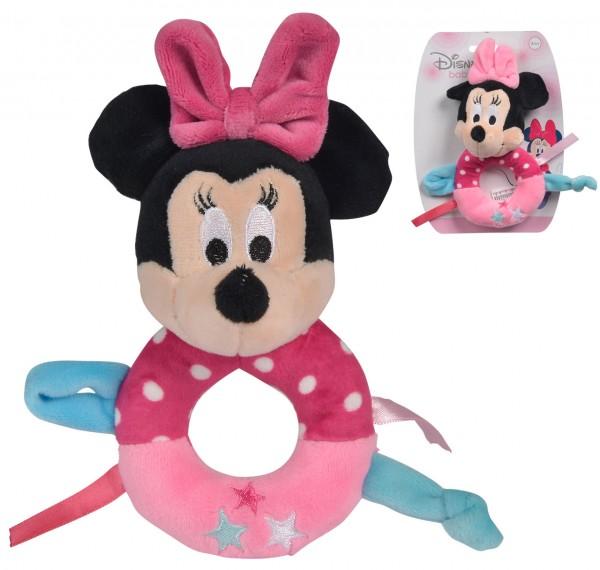 Disney Minnie Maus Baby Rassel (Rosa-Pink)