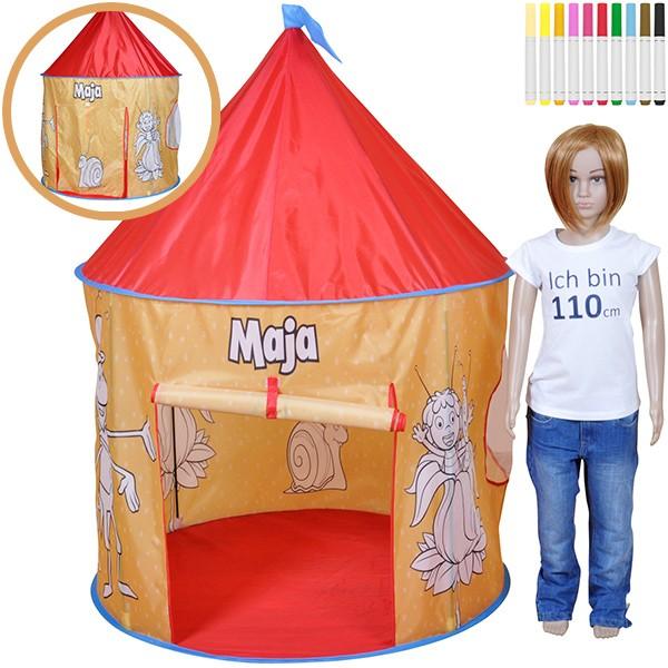 Color My Tent Spielzelt Biene Maja zum Bemalen