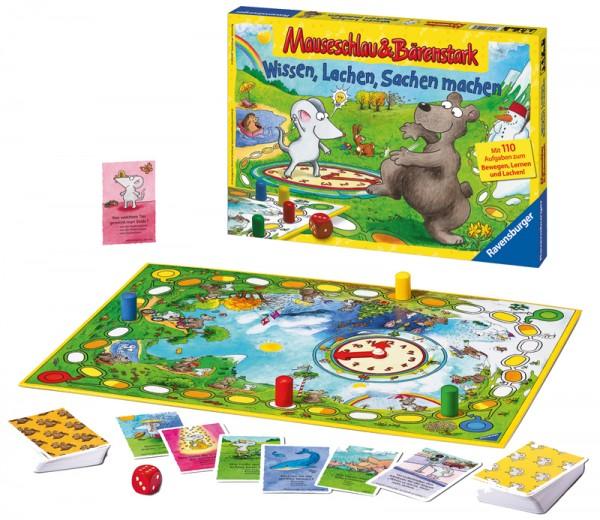 Kinderspiel Mauseschlau & Bärenstark Wissen, Lachen, Sachen machen