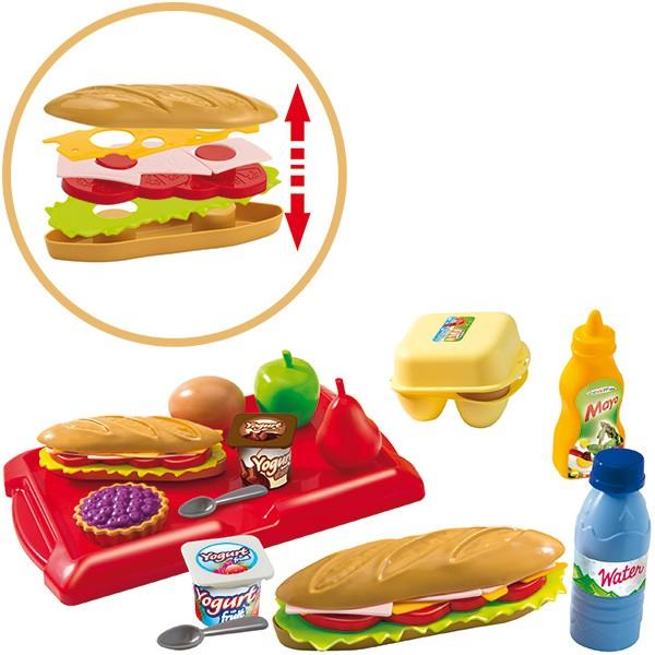 Sandwich Set mit Zubehör in Box