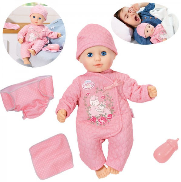 Baby Annabell Little Baby Fun Puppe 36 cm (Rosa)