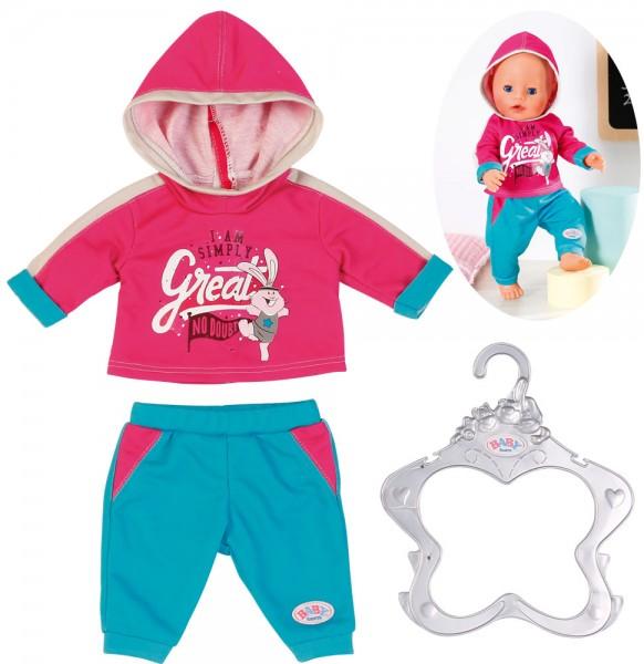Baby Born Freizeitanzug 43 cm (Pink-Türkis)