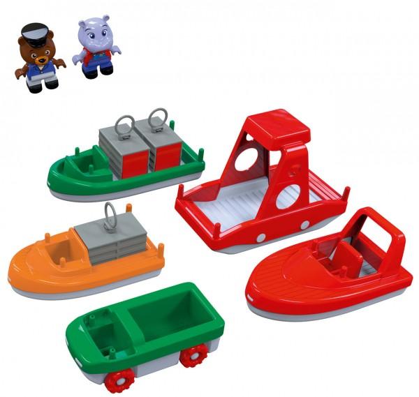 Großes Boot-Set für Wasserbahnen