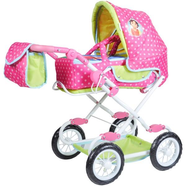 Puppenwagen Salsa Heidi (Pink-Grün)