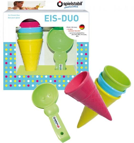 5-teiliges Sandspielzeug Eis-Duo Fashion