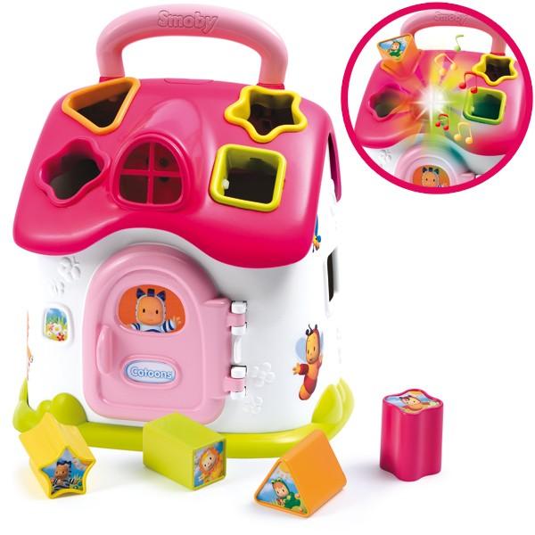 Cotoons Elektronisches Steckspielhaus (Pink)