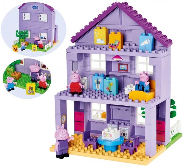 PlayBIG Bloxx Peppa Pig Großvaters Haus (Lila)