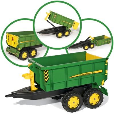 RollyTrailer John Deere Anhänger Container (Grün)