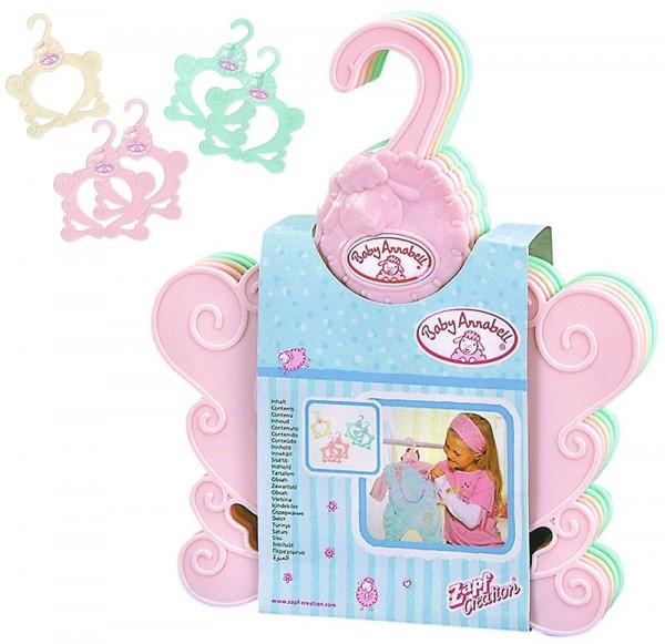 Baby Annabell Kleiderbügel 5er-Set (Bunt)