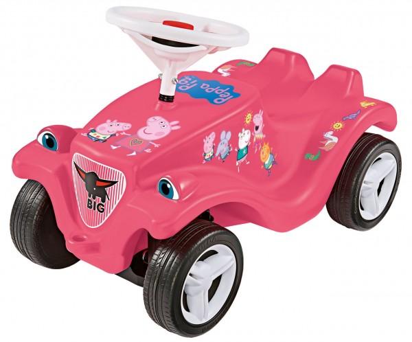 Bobby Car Classic Peppa Pig mit Flüsterreifen (Rosa)