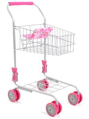 Supermarkt Einkaufswagen (Rosa)