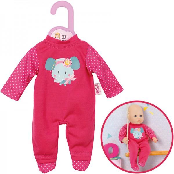 Dolly Moda Strampler Elefant 30 - 36 cm (Pink)