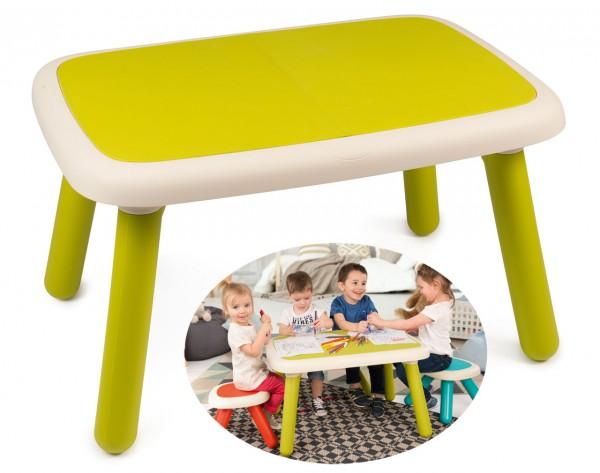 Großer Kindertisch Kid für Drinnen und Draußen (Grün)