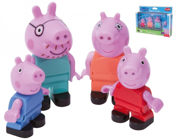 PlayBIG Bloxx Peppa Pig Peppa´s Family