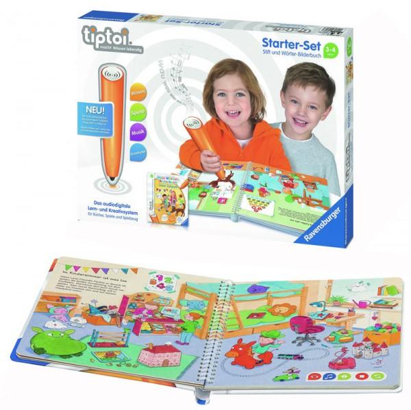 Lernspiel Tiptoi Starter Set mit Stift und Wörter-Bilderbuch