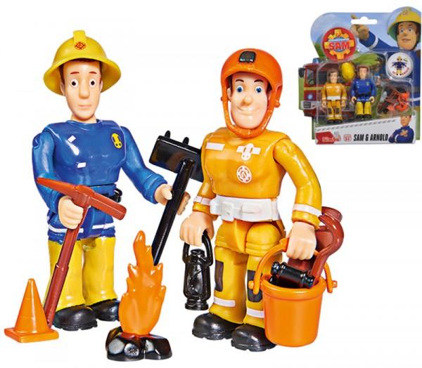 Feuerwehrmann Sam 2er Figuren-Set Sam und Arnold