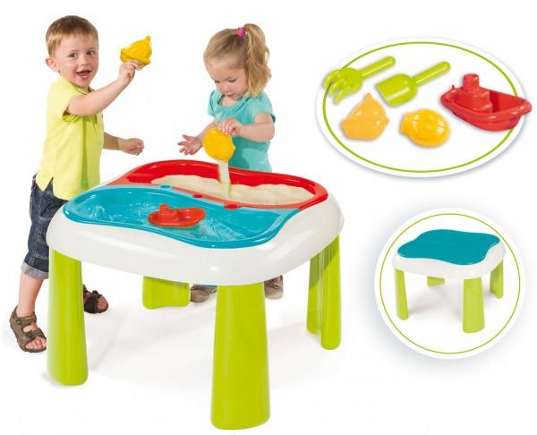 Großer Sand und Wasser Spieltisch mit Sandspielzeug