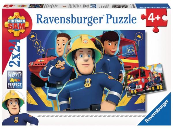 Kinderpuzzle Feuerwehrmann Sam, Sam hilft dir in der Not ab 4 Jahren