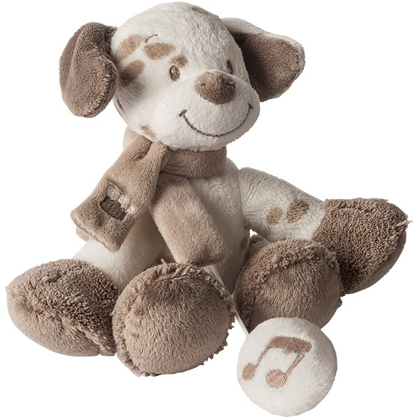Max, Noa & Tom Mini Spieluhr Hund Max (La Le Lu)