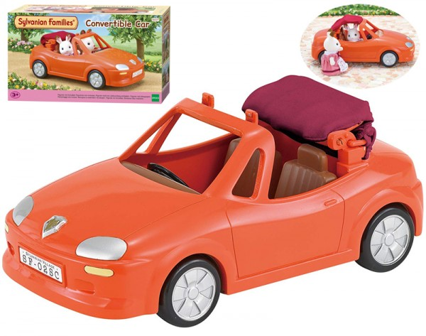 Sylvanian Families Rotes Cabrio Auto für die Sylvanians Figuren
