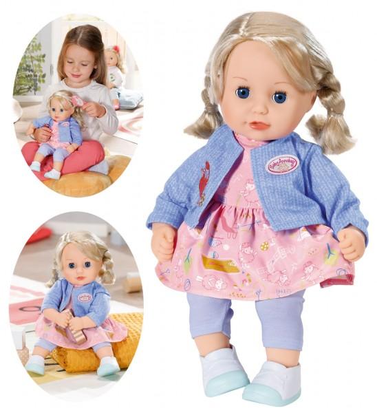 Baby Annabell Little Sophia Puppe mit Haaren 36 cm