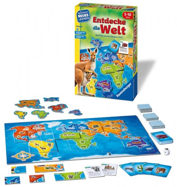 Kinderspiel Entdecke die Welt
