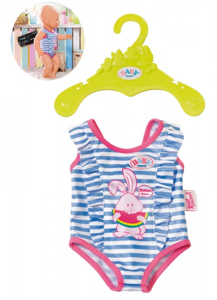 Baby Born Badeanzug (Blau-Pink)
