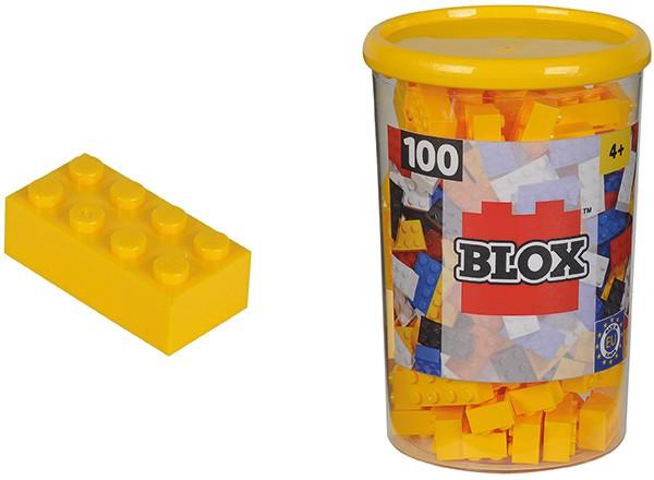 100 Blox Steine in Dose (Gelb)