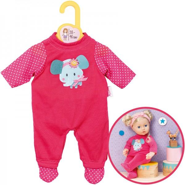 Dolly Moda Strampler Elefant 38 - 46 cm (Pink)