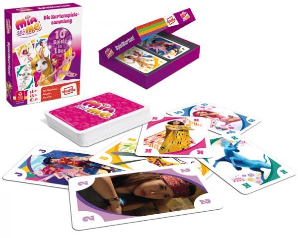 Kartenspielesammlung Mia and Me Spielkarten 10in1