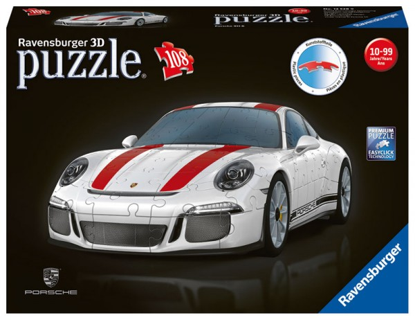 3D Puzzle Porsche 911 R
