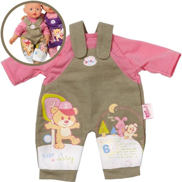 Baby Born My little easyFIT Kleidung Latzhose 32 cm