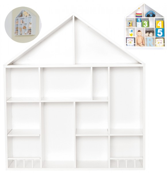 Setzkasten Haus 52 x 58 cm (Weiß)