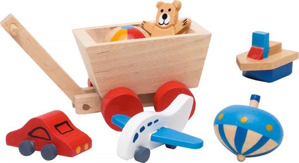 7-teilige Puppenhaus-Accessoires Kinderzimmer
