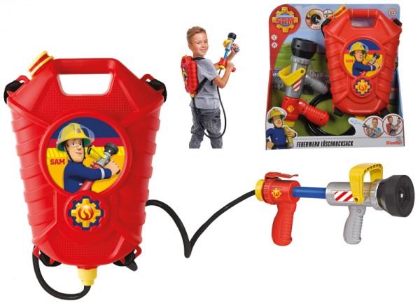 Feuerwehrmann Sam Tankrucksack