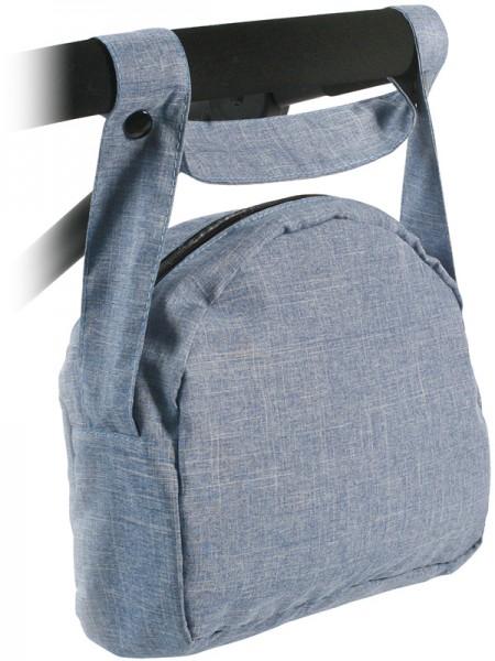 Wickeltasche für Puppenwagen (Jeans Blue)
