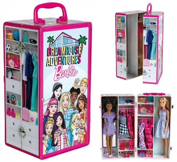 Barbie Schrankkoffer (Pink-Bunt)