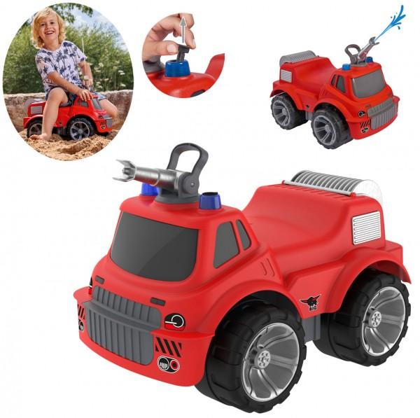 Power-Worker Maxi Firetruck Rutscher Feuerwehr