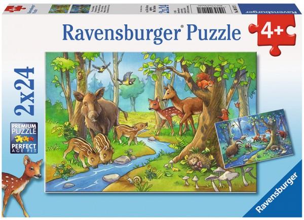 Kinderpuzzle Tiere des Waldes ab 4 Jahren