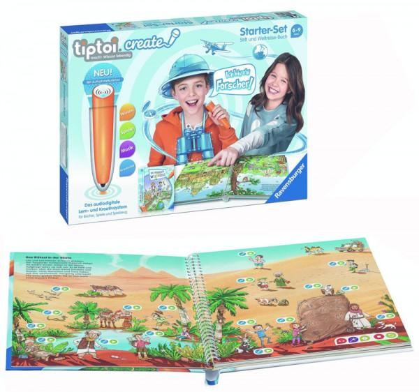 Lernspiel Tiptoi Create Starter Set Stift und Weltreise-Buch