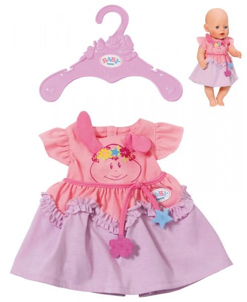 Baby Born Kleider Kollektion 43 cm (Rosa-Lila)