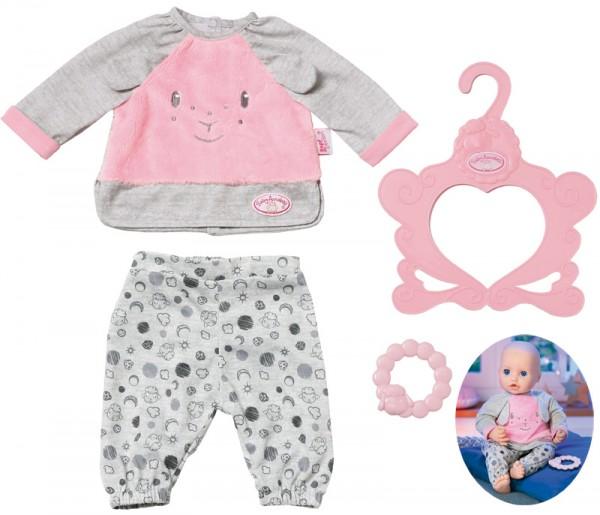 Baby Annabell Sweet Dreams Schlafanzug 40- 46 cm (Grau-Rosa)