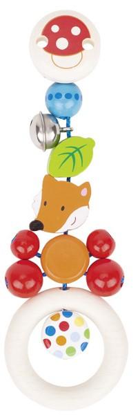 Clipfigur Fuchs aus Holz