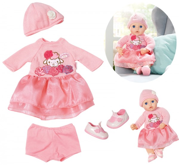 Baby Annabell Deluxe Set Strick 43 cm (Rosa)
