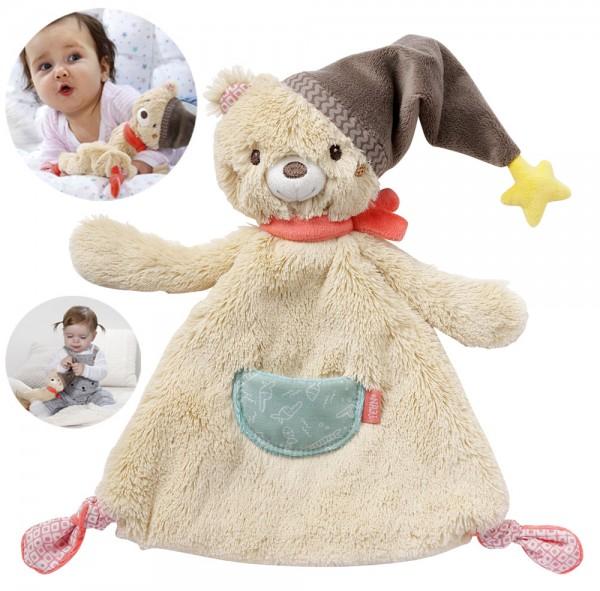 Bruno Großes Schmusetuch Teddy (Beige)