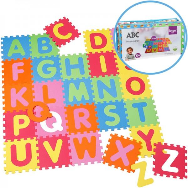 EVA Schaumstoff Puzzlematten Buchstaben ABC 26-teilig (Bunt)