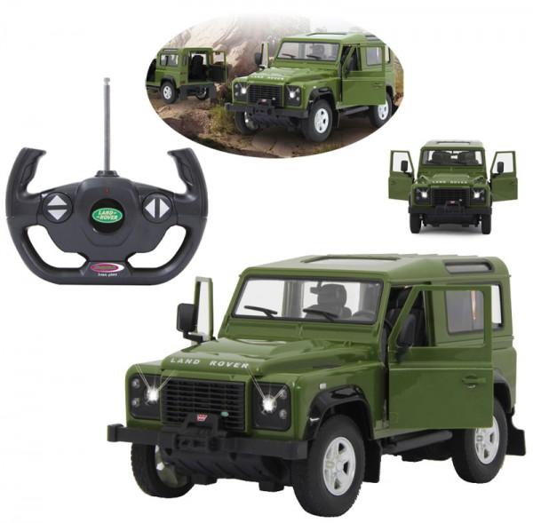 RC Land Rover Defender 1:14 40 MHz (Grün)