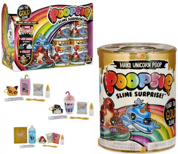Poopsie Slime Surprise Poop Packs Gold Edition (Sortiert)