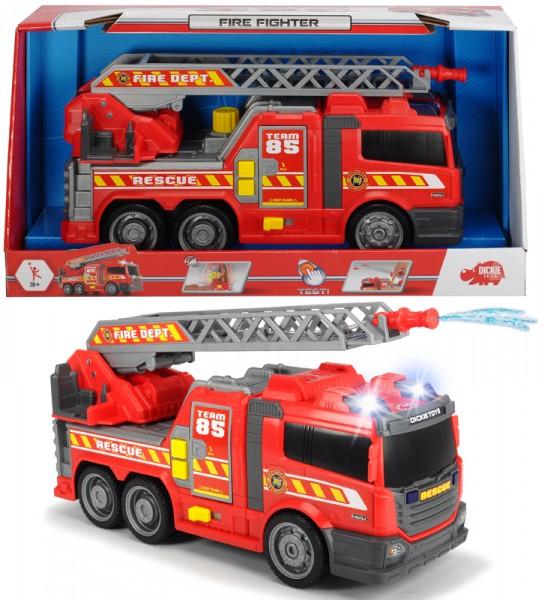 Feuerwehrauto Fire Fighter mit Drehleiter und Licht & Sound